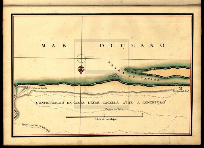 """""""Fortificações do Algarve"""", por Baltasar de Azevedo Coutinho, capitão do Real Corpo de Engenheiros (ca. 1800)"""
